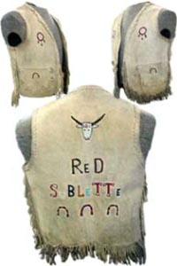 Red Sublette vest